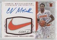 Basketball Materials Signatures - Chris McCullough #1/2