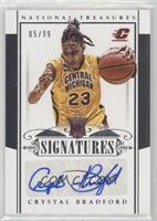 Rookie Signatures - Crystal Bradford /99