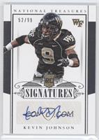 Rookie Signatures - Kevin Johnson /99