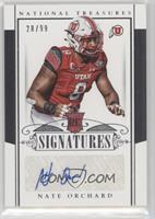Rookie Signatures - Nate Orchard #/99