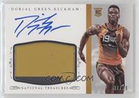 Football Materials Signatures - Dorial Green-Beckham /99