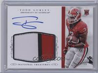 Football Materials Signatures - Todd Gurley /99