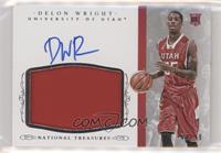 Basketball Materials Signatures - Delon Wright #/99