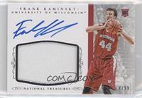 Basketball Materials Signatures - Frank Kaminsky /99