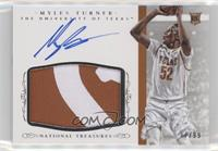 Basketball Materials Signatures - Myles Turner /99