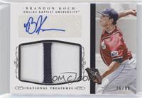 Baseball Materials Signatures - Brandon Koch /99