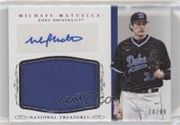 Baseball Materials Signatures - Michael Matuella /99