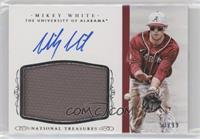 Baseball Materials Signatures - Mikey White #/99