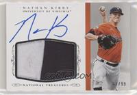 Baseball Materials Signatures - Nathan Kirby [Good to VG‑EX] #/…