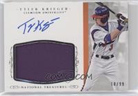 Baseball Materials Signatures - Tyler Krieger /99
