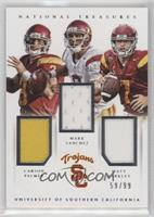 Carson Palmer, Matt Barkley, Mark Sanchez /99