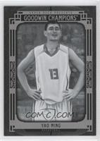 Black and White - Yao Ming