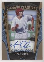 Baseball Prospects Autographs - Matt Olson