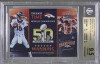 Peyton Manning /180 [BGS9.5]