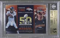 Peyton Manning [BGS9.5GEMMINT] #/180