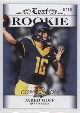 2016 Leaf Rookie II - [Base] - Blue #R-11 - Jared Goff /10