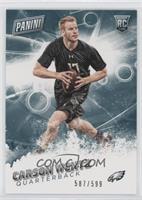 Rookie - Carson Wentz #/599
