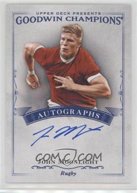 2016 Upper Deck Goodwin Champions - Autographs #A-JM - John Moonlight