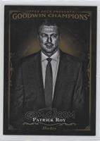 Black & White - Patrick Roy