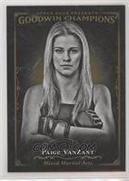 Black & White - Paige VanZant [Noted]