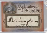 Philip Livingston #/76