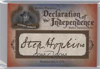 Stephen Hopkins #/76