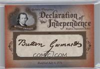 Button Gwinnett /76
