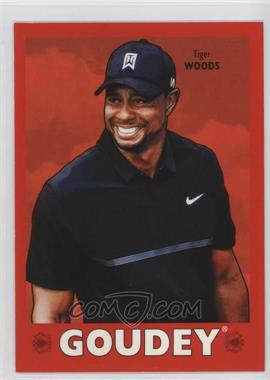 2016 Upper Deck Goodwin Champions - Goudey - Royal Red #25 - Tiger Woods