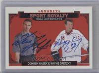 Dominik Hasek, Wayne Gretzky