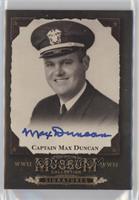 Cpt. Max Duncan
