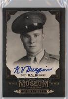 Sgt. R.V. Burgin