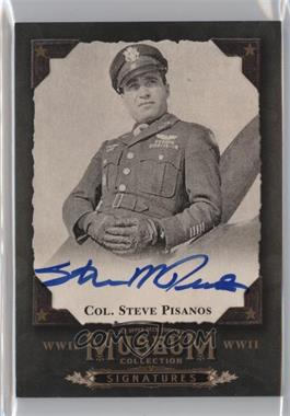 2016 Upper Deck Goodwin Champions - Museum Collection World War II Signatures #MCS-SP - Col. Steve Pisanos