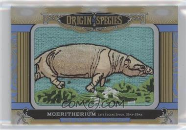 2016 Upper Deck Goodwin Champions - Origin of Species Patches #OS-209 - Tier 1 - Moeritherium