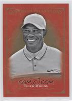 Complete Royal Red Black and White Set - Tiger Woods