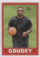 Complete Goudey Royal Red Set - LeBron James