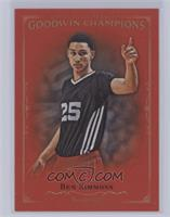 1st 50 Completed Royal Red E1-E3 Master Sets - Ben Simmons [Near Mint&#820…