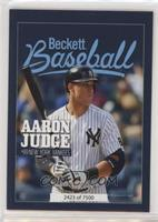 Aaron Judge, Mickey Mantle /7500