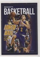 Lonzo Ball, Magic Johnson #/4,000