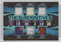 Isiah Thomas, Steve Nash, Magic Johnson, Allen Iverson, John Stockton, Gary Pay…