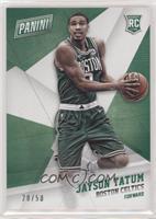 Rookies - Jayson Tatum /50