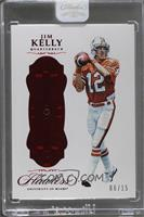 Jim Kelly [Uncirculated] #/15