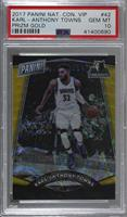 Karl-Anthony Towns /15 [PSA 10 GEM MT]