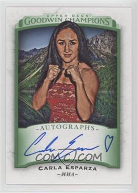 2017 Upper Deck Goodwin Champions - Autographs #A-CE - Carla Esparza