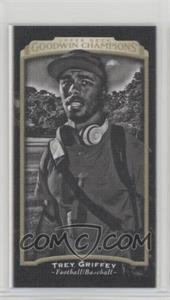 2017 Upper Deck Goodwin Champions - [Base] - Canvas Mini #142 - Black & White - Trey Griffey