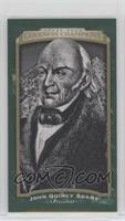 Black & White - John Quincy Adams #/25