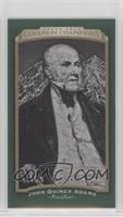 Horizontal - John Quincy Adams #/25