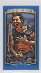 2017 Upper Deck Goodwin Champions - [Base] - Mini Royal Blue #33 - Takeru Kobayashi