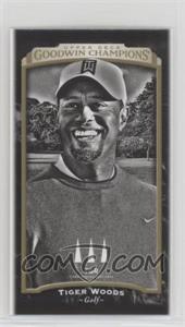 2017 Upper Deck Goodwin Champions - [Base] - Mini #145 - Black & White - Tiger Woods
