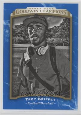 2017 Upper Deck Goodwin Champions - [Base] - Royal Blue #142 - Black & White - Trey Griffey