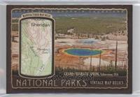 Yellowstone - Grand Prismatic Spring #/72